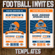 Football Ticket Party Invites 4 - GraphicRiver Item for Sale