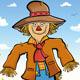 Happy Scarecrow - GraphicRiver Item for Sale