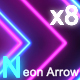 Neon Arrow - VideoHive Item for Sale
