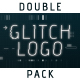 Digital and Retro Glitch Logo Reveals - VideoHive Item for Sale