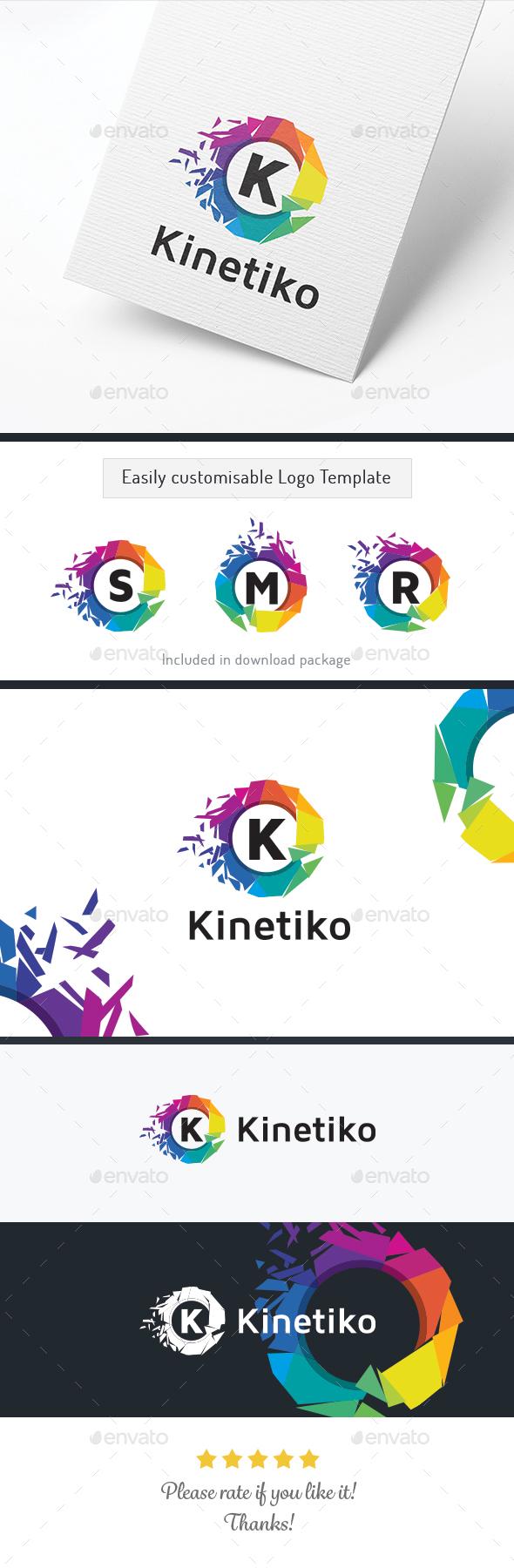 Kinetiko Letter / Alphabet