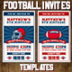 Football Ticket Party Invites 3 - GraphicRiver Item for Sale