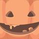 Set of Halloween Decorative Orange Pumpkins - GraphicRiver Item for Sale