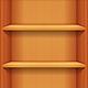 Bookshelves for iOS GUI - GraphicRiver Item for Sale