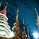 Night  Of a Temple In Chiang Mai, Thailand - VideoHive Item for Sale