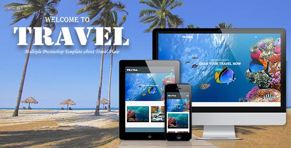 Leo Travel Responsive Prestashop Theme for Travel Agency, Gift, Ticket,Souvenir, Multiple
