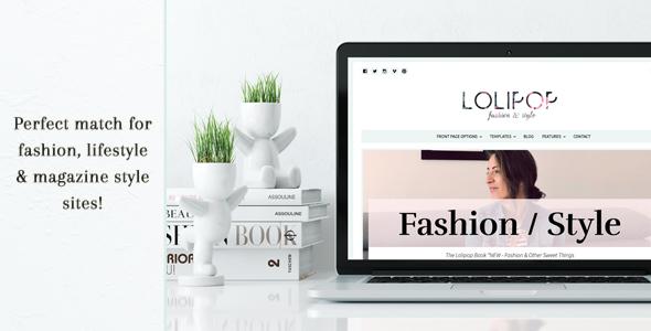 Lolipop - Fashion WordPress Theme 20