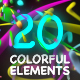 Colorful Elements - VideoHive Item for Sale