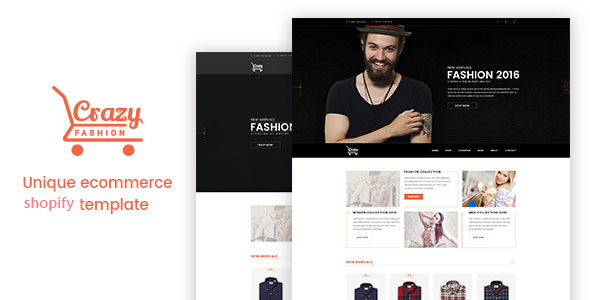 Crazy Fashion - Shopify Responsive Theme