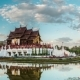 Day To Night  Of Royal Flora Temple Chiang Mai, Thailand - VideoHive Item for Sale