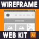 Wireframe Web Kit - GraphicRiver Item for Sale