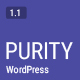 Purity - A Responsive WordPress Blog Theme - ThemeForest Item for Sale