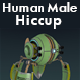 Human Male Hiccup