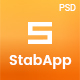 StabApp - App Landing Page -  PSD Template - ThemeForest Item for Sale