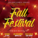 Fall Harvest Festival Party Flyer - GraphicRiver Item for Sale