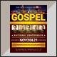 Gospel Conference Flyer Template - GraphicRiver Item for Sale