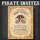 Pirate Flyer Invite Templates - GraphicRiver Item for Sale