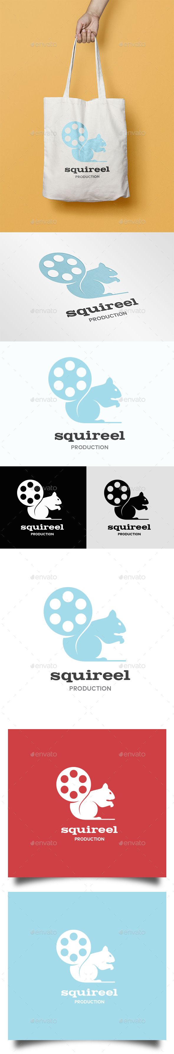 Squirrel  Reel Logo