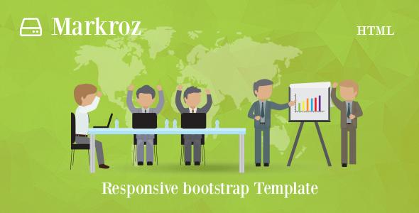 Markroz - Multi-purpose Responsive Bootstrap Template