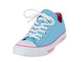 Vintage blue single shoe on white background - PhotoDune Item for Sale