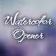 Watercolor Opener. - VideoHive Item for Sale