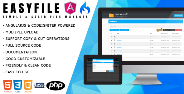 File Manager Plugins, Code & Scripts from CodeCanyon