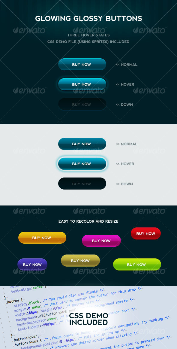 CSS Graphics, Designs & Templates from GraphicRiver
