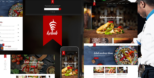 Kebab - Restaurant, Fast Food WordPress Theme