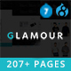 Glamour - Multipurpose OnePage & MultiPage Drupal 7 & 8.7 Theme