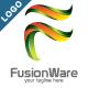 Fusion Ware - 3D Letter F Logo - GraphicRiver Item for Sale
