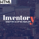 Inventory - Responsive Directory Geolocation & Listings HTML5 Template - ThemeForest Item for Sale