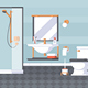 Bathroom and Laundry Room - GraphicRiver Item for Sale