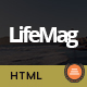 LifeMag - Responsive HTML Magazine Template - ThemeForest Item for Sale