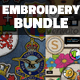 Embroidery and Stitching Bundle - GraphicRiver Item for Sale