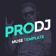 ProDJ - Creative DJ / Producer Site Muse Template - ThemeForest Item for Sale