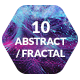 10 Abstract Fractal Backgrounds Textures - GraphicRiver Item for Sale