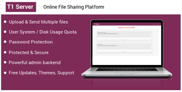 T1 File upload & sharing