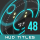Prometheus - 48 HUD 2D & 3D titles - VideoHive Item for Sale