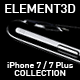 Element3D - iPhone 7 / 7 Plus Collection - 3DOcean Item for Sale