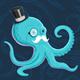 Gentleman Octopus - GraphicRiver Item for Sale