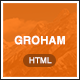 Groham - Fashion eCommerce HTML template - ThemeForest Item for Sale