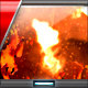 Fire Flame Lava Burn Logo - VideoHive Item for Sale