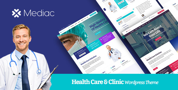 Mediac - Healthy Service WordPress Theme
