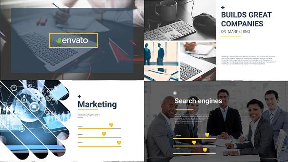 Business Marketer - Flat Corporate Presentation