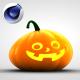 3D Pumpkin Character - 3DOcean Item for Sale