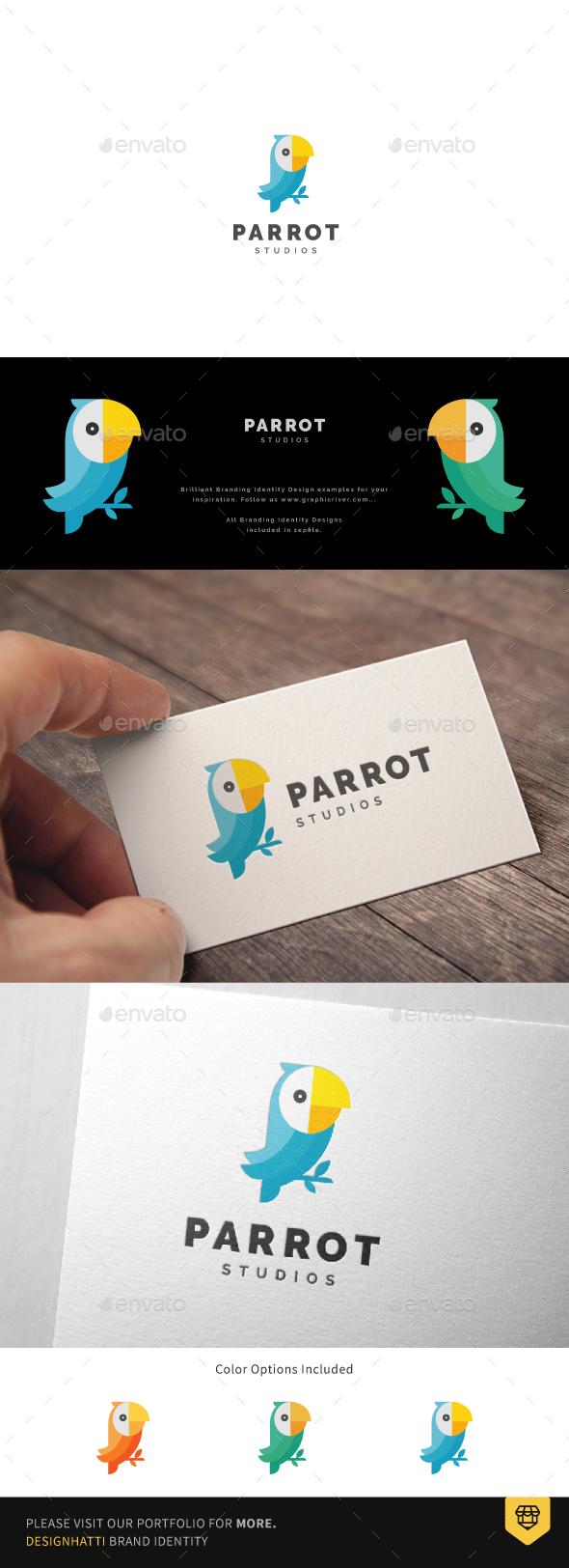 Parrot Studio Logo