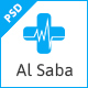 Al-Saba Health and Medical PSD Template - ThemeForest Item for Sale
