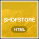 Shofstore - eCommerce HTML5 template - ThemeForest Item for Sale