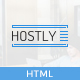 HOSTLY - Responsive HTML5 Template - ThemeForest Item for Sale