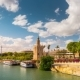 View Of Golden Tower, Torre Del Oro, Of Seville, Andalusia, Spain - VideoHive Item for Sale